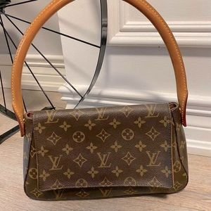 Louis Vuitton Monogram Mini Looping Handbag